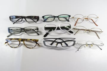 メガネ/眼鏡 フレーム まとめて 9本 セット メンズ/レディース