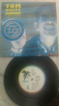 トム・ウェイツシングルレコード 美品 レアな1枚