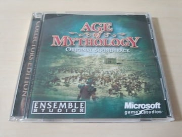 ゲームサントラCD「AGE OF MYTHOLOGY」OST★