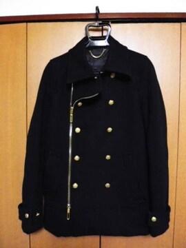 ガラアーベント 金ボタン ナポレオン Pコート L美品