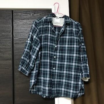 ニコアンドniko andサイズ4丈70身幅44チェックのシャツ