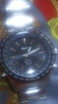 定価73440円GPS衛星電波腕時計エルジンGPS2000Sメタル