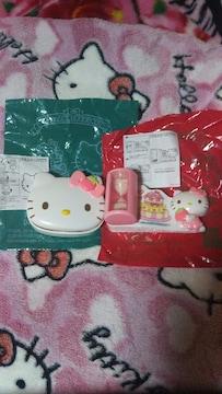 キティ可愛いクッキー型&砂時計☆ハッピーセット