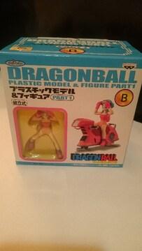 未開封 ドラゴンボール ブルマ&バイク フィギュア B  2004