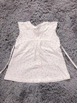 女の子★ノースリーブTシャツ90