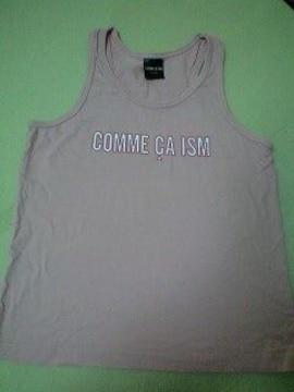 COMME CA ISM130�pタンクトップ