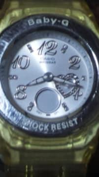 CASIObaby-Gショック腕時計BGA-100アナログ針+デジタル液晶コンビ