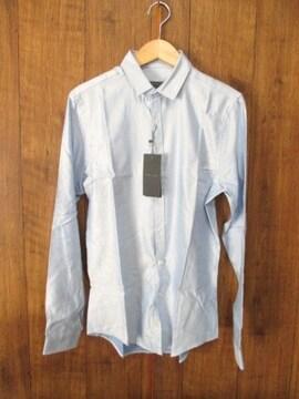 ☆ZARA/ザラ ドレスシャツ/ビジネスシャツ/メンズ/S/水色☆新品