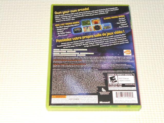 xbox360★NAMCO MUSEUM VIRTUAL ARCADE 海外版 < ゲーム本体/ソフトの