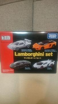 未開封 貴重!トミカ ランボルギーニ 4台セットBOX 特典アリ