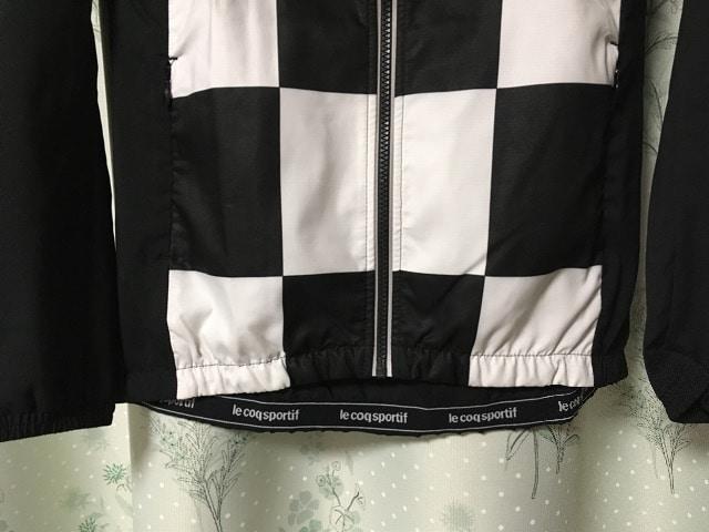 新品未使用ルコック黒色ジャンパージャケットアウターブルゾン < ブランドの