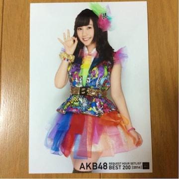 NMB48 薮下柊 リクエストアワー 2014 生写真 AKB48