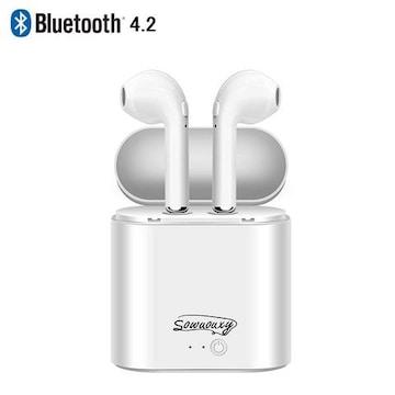 真のワイヤレスステレオ 新型 Bluetooth 4.2 ヘッ