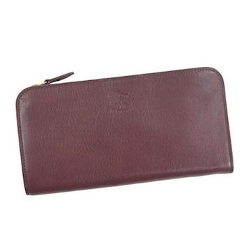 ◆新品本物◆イルビゾンテ L字ファスナー長財布(PUR)『C0909』◆