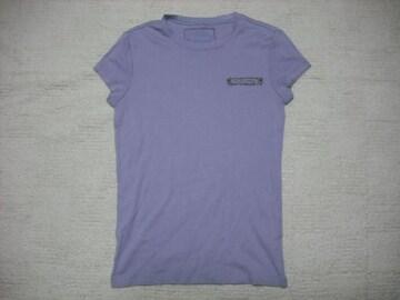 80 女 ラルフローレン 紫 半袖Tシャツ XS
