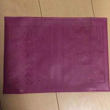 黒執事☆一番くじ☆G賞雑貨アソート☆ブックカバー☆紫☆B6