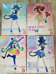 スター☆トウィンクルプリキュア キューティーフィギュア キュアコスモ 4種類セット