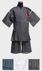 和柄刺繍甚平セットアップまとめ売りM白◆DOWBL系浴衣