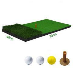 ゴルフ ショットマット ティー・ボール 40cm*70cm