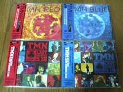 TMN CD 4枚セット LIVE/BLUE/RED