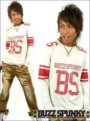 BUZZSPUNKY(バズスパンキー)BS86フットボールロンT/M