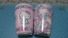 ★ハローキティ♪メランミンカップ2個