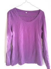 UNIQLO*紫*XL*ロンT