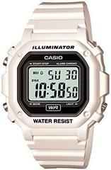 CASIO 腕時計 デジタル表示 ホワイト×ブラック
