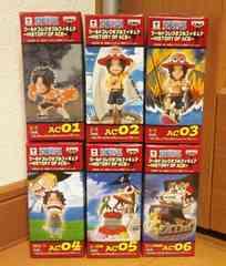 ワンピース ワールドコレクタブルフィギュア HISTORY OF ACE 全6種セット エース