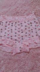☆.。.*pink 花柄ショーツガードル*.。.☆