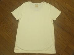 ¶cerruti1881[セルッティ]★シルク・絹100%半袖Tシャツ メンズL相当/送料\90〜