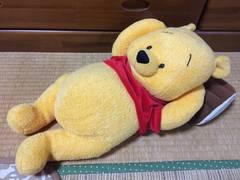 新品未使用特大ディズニーくまのプーさんぬいぐるみ抱き枕