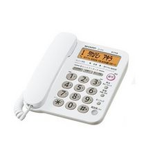 送料込 新品 シャープ電話機 JD-G32CL 親機のみ