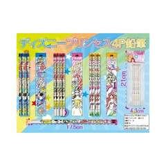 可愛い!ディズニー『プリンセス』4P鉛筆(柄お任せ)24本組