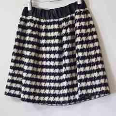 インデックス INDEX ウール ミニスカート