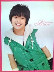 Jr.カレンダー'09.4-'10.3壁掛けB2ポスターサイズ森本慎太郎('10.3MAR)