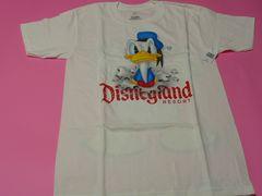 USA ディズニーランド ドナルド Tシャツ Sサイズ