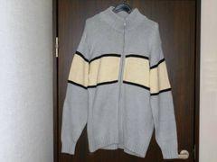 ★セーター ドッグシガー 薄いブルー