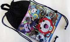 ◆ 特価 59N ナップサック巾着 (^o^) 体操服入れ ハンドメイド