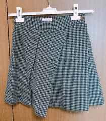 R】�@ヴィヴィアンLEDLABELツイード 変形スカート