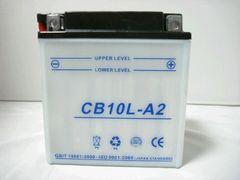 ◆バイクバッテリー CB10L-A2  YB10L-A2互換 液付属 新品