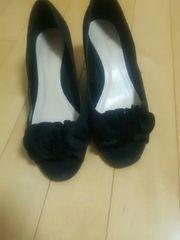黒パンプス☆23
