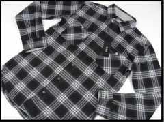 abx メンズ 長袖シャツ LL 長袖 ネルシャツ