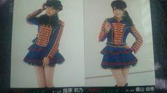 激安!超レア☆!ハートエレキ/劇場盤生写真2枚指原莉乃+横山由依☆美品!