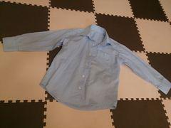 110 カッターシャツ ブルー