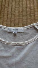 jayro☆白トップス☆肩穴あき☆シンプル