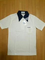80s デサント製 adidas ポロシャツ M
