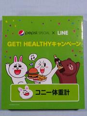 当選品□pepsi SPECIAL×LINE コニー体重計□非売品 250個限定