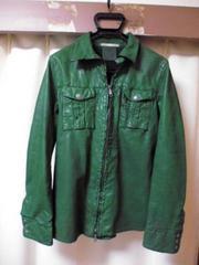 サンタクローチェ バッファローレザーシャツ XS国内正規ニール