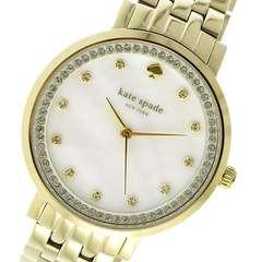 ケイトスペード  クオーツ レディース 腕時計 1YRU0821 シェル